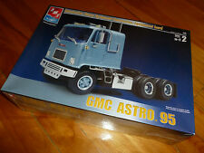 PPP GMC ASTRO 95 TRACTOR TRUCK AMT ERTL 38164 MODEL KIT PLASTIC 1/25 F/S SEALED
