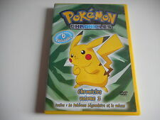 DVD - POKEMON CHRONICLES - VOL 3 - 6 EPISODES - ZONE 2