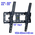 Samsung LG Sony TV Wall Mount Bracket Tilting 23 26 28 32 37 42 46 48 50 55