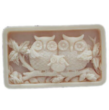 Silicone Soap Molds Mould Craft mold DIY handmade Soap Soap making molds Owls
