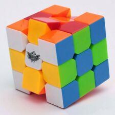 Magic Cube Cyclone Boy 3x3 Speed Twist Puzzle Stickerless With Solution Kid Gift