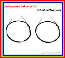 2 x Handbremsseile Links+Rechts BMW 5 (E39) 5 Touring (E39) Scheiben/Trommel