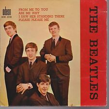 Beatles From Me To You + 3 France Import Ep Picture Sleeve Only NO Record