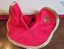 Fisher Price Briarberry BEARS  RED Skirt GOLD Trim for Berry Nicole BerryNicole