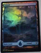 Foil Island/isla-Battle Zendikar-inglés (n-Mint +) # 259 * full art *
