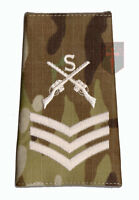 SGT IVORY on MULTICAM MTP Sniper Rank Slide Lance Corporal ( Crossed Rifles