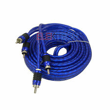 Stinger SI6217 RCA Interconnect Audio Cable 2 Channels 17 ft 6000 Series Stereo