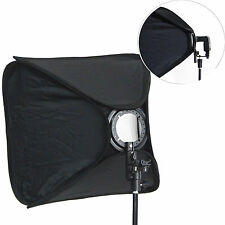 DynaSun SB1009 80x80cm XXL Softbox Pieghevole Portatile Hot shoe x Flash Slitta