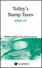 Tolleys Stamp Taxes 2009-10,VERYGOOD Book