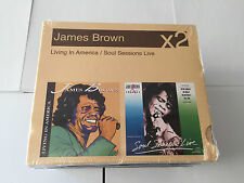 James Brown-Soul Sessions Live/living in America  CD NEW SEALED 2 LP SET ON CD