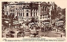 B85164 piccadilly circus and eros double decker bus car voiture  london uk