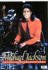 MICHAEL JACKSON 1990 OFFICIAL TRIUMPH INTERNATIONAL calendar, new,  unused