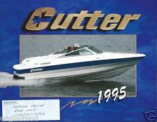 Boat Brochure - Cutter - Product Line Overview - 1995  (SH04)
