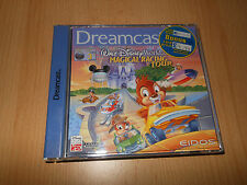 SEGA DREAMCAST DISNEY WORLD QUEST MAGICAL RACING TOUR MINT NEW UK PAL