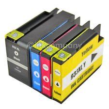 4x DRUCKER PATRONE für HP 932XL 933XL OFFICEJET 6100 ePrinter 6600 6700 Premium