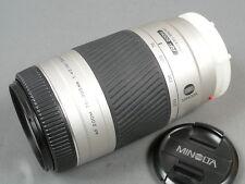 Minolta AF ZOOM 75-300/4,5-5,6 D, ausgez. Zustand + Deck.
