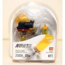 Nokya Headlight Set 2 Nok7618 Bulb Hyper Yellow Fog/Headlight H11 55w 7618
