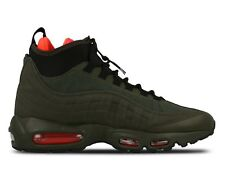 Nike Men's Air Max 95 Sneakerboot 806809 300 Loden/Cargo Khaki/Crimson/Blac