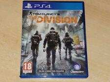 Tom Clancy La División PS4 Playstation 4 ** GRATIS UK FRANQUEO **