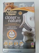 Tommee Tippee Single Manual Breast Pump System Closer to Nature