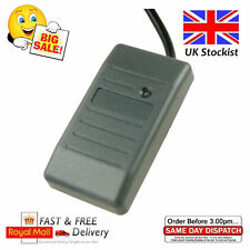 125khz Black Plastic EM ID Weigand 26 Wired RFID Proximity Card Reader UK