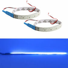 2PCS Blue 30CM 32 LED Knight Rider Flash Strobe Scanner Neon Strip Light