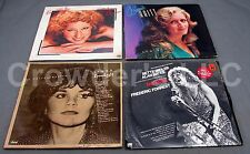 Lot of 4 Vintage Records: Bonnie Raitt Bette Midler Linda Ronstadt & the Rose LP