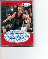 1998 SAGE BASKETBALL EVAN ESCHMEYER RC AUTO /999