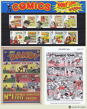 2012 Comics Stamps in Royal Mail Presentation Pack PP443 (printed no.469)