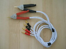 NEW 4 WIRE KELVIN CLIP/CLIPPER - FOR LCR/LCZ/RCL  METER /TESTER,DMM,BANANA