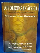 LIBRO Los Orichas en Africa  RELIGION YORUBA ifa