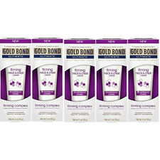 5 Pack - Gold Bond Ultimate Firming Neck & Chest Cream 2 Oz Each