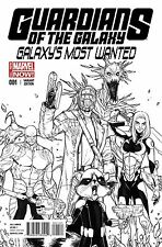 Guardians of the Galaxy's Most Wanted # 1 VARIANT 1:25 Rocket Raccoon NM