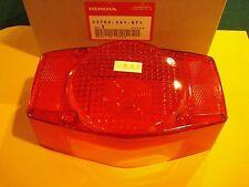 Honda CT70 CB200 CB350 CB360 CB400F CB450 CB500 CB550 CB750 taillight lens OEM