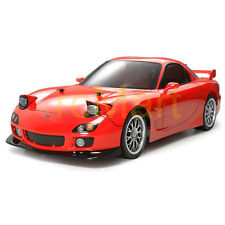 Tamiya Body Set Mazda RX-7 190mm EP 1:10 RC Car Touring Drift On Road #51270
