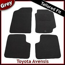 Toyota Avensis Mk1 T210 T220 1997-2003 FullyTailored Fitted Carpet Car Mats GREY