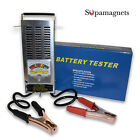 NEW! 6 - 12 VOLT CAR BATTERY LOAD TESTER 100 AMP (STAINLESS STEEL CASE)