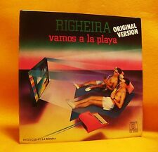 "7"" Single Vinyl 45 Righeira Vamos A La Playa 2TR 1983 (MINT) Italo-Disco"