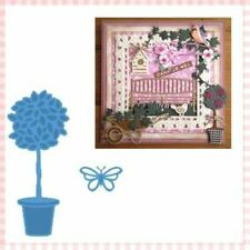 Marianne Design - Creatables Dies - Topiary & Butterfly 1 LR0261