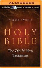 King James Version Holy Bible - the Old and New Testaments (2014, MP3 CD,...