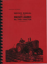 "Massey-Harris ""744D"" Tractor Service Manual"