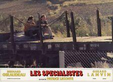 BERNARD GIRAUDEAU  GERARD LANVIN  LES SPECIALISTES 1985 PHOTO D'EXPLOITATION #12