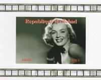 MARILYN MONROE HOLLYWOOD STAR MINIATURE MINT IMPERFORATED STAMP SHEETLET 2013