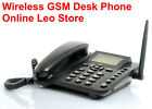 Wholesale lot 10 units Wireless GSM Desk Phone, Quadband, SMS function. $44.00ea