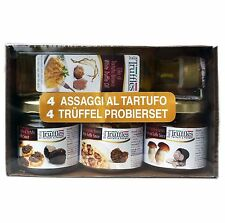 TRUFFLE Gift Set 3x black white and porcini Truffle Sauce + 1x Olive Oil трюфель
