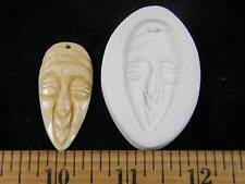 Tribal Mask #1 Polymer Clay Mold (#MD1318)