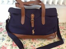 ⭐️RALPH LAUREN⭐Weekend Gym Sports Holdall Holdal Work Office Bag⭐️