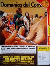 Domenica del Corriere 8 1977 Peppone e Don Camillo. L. Antonelli. Minguzzi C51