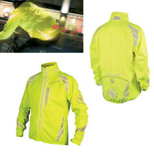 Endura Men's Luminite II Cycling Jacket-Large-Hi-Viz Yellow-Bicycle Coat-New