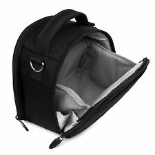 Black Portable Hook Shoulder Digital SLR Camera Bag For Sony Alpha A350 a7R II